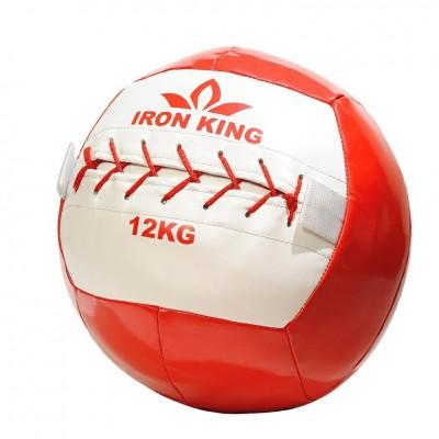 Медбол Iron King 12 кг